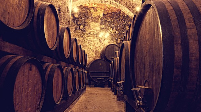 winemaking barrels