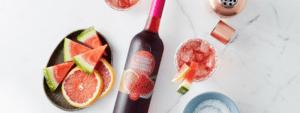 Salty Dog Twist avec Orchard Breezin' Melon d'eau et pamplemousse