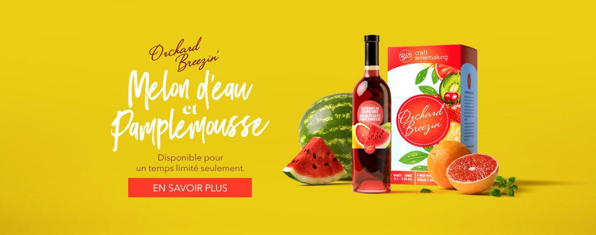 Orchard Breezin' Limited Release Watermelon Grapefruit